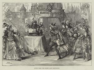 Scene from the Drury Lane Pantomime by David Henry Friston