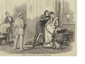 Scene from The Great Divorce Case, at the Criterion Theatre by David Henry Friston