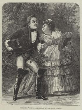 Scene from The Poor Gentleman, at the Strand Theatre by David Henry Friston