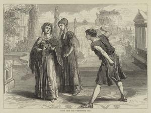 Scene from the Westminster Play by David Henry Friston