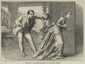 Scene from The Woman in White, at the Olympic Theatre by David Henry Friston