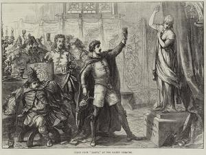 Scene from Zampa, at the Gaiety Theatre by David Henry Friston