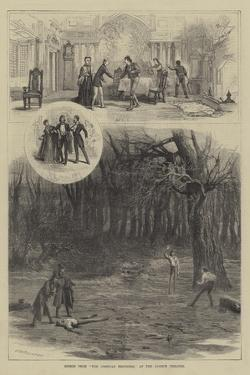 Scenes from The Corsican Brothers, at the Lyceum Theatre by David Henry Friston
