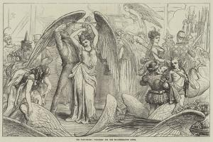 The Pantomimes, Preparing for the Transformation Scene by David Henry Friston