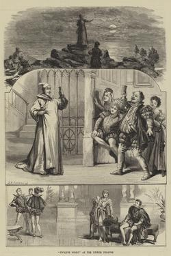 Twelfth Night at the Lyceum Theatre by David Henry Friston