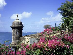 Old City Walls, Old San Juan, Puerto Rico by David Herbig