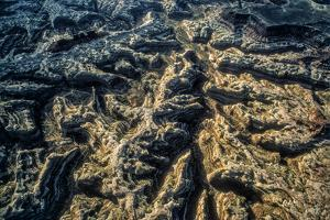 An Aerial View of the Maze, a Roadless Area West of the Colorado River by David Hiser