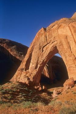 Broken Bow Arch from East by David Hiser