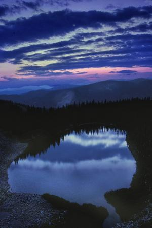 Dawn at American Lake in the White River National Forest Near Aspen by David Hiser