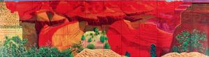 A Closer Grand Canyon by David Hockney