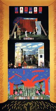 Triple Bill: The Rite of Spring, Le rossignol, and Oepidus Rex by David Hockney
