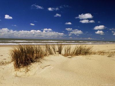 Beach, Cote d'Argent, Gironde, Aquitaine, France