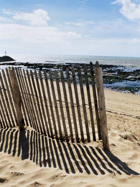 Beach, La Cotiniere, Ile d'Oleron, Charente-Maritime, Poitou Charentes, France by David Hughes