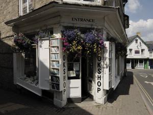 Bookshop, Hay on Wye, Powys, Mid-Wales, Wales, United Kingdom by David Hughes