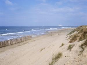 Dunes, Fort Mahon, Calais, Pas-De-Calais, Nord-Picardie (Picardy), France by David Hughes