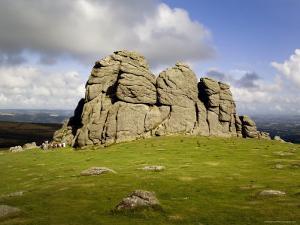 Hay Tor Rocks, Dartmoor, Devon, England, United Kingdom by David Hughes
