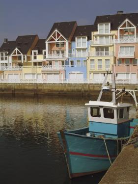 Holiday Flats Overlooking the Port, Deauville, Calvados, Normandy, France by David Hughes