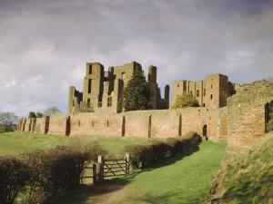 Kenilworth Castle, Warwickshire, England, UK, Europe by David Hughes