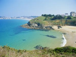 Le Val-Andre, Emerald Coast, Cotes d'Armor, Brittany, France, Europe by David Hughes