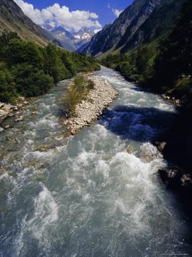 Le Valgaudemar, Near Gap, Hautes Alpes, French Alps, Provence, France by David Hughes
