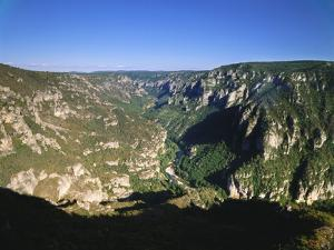 Valley in Lozere, Languedoc-Roussillon, France by David Hughes
