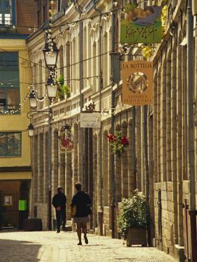 Vieux Lille, Lille, Flanders, Nord Pas De Calais, France, Europe by David Hughes