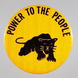 Black Panther Pin by David J. Frent