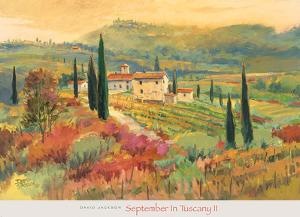 September in Tuscany II by David Jackson