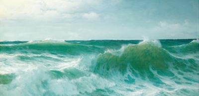 A Breaking Wave, 1894
