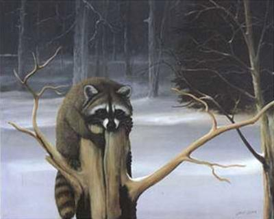 Mischief on a Stump by David Jean