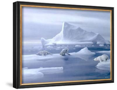 Play Time Polar Bear by David Jean