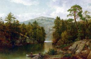 The Lake George, 1876 by David Johnson