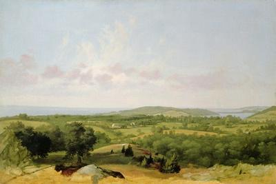View of Narragansett Bay, Near Warwick, Rhode Island