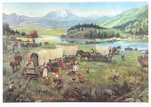 Wagon's West by David K. Stone