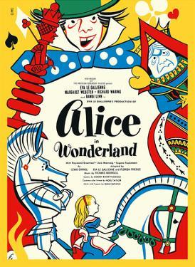 Alice in Wonderland - Broadway Production by David Klein