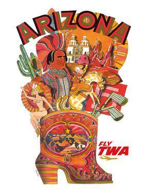 Arizona - Fly TWA (Trans World Airlines) by David Klein