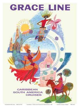 Caribbean - South America Cruises by David Klein