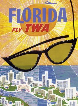 Florida - Fly TWA (Trans World Airlines) by David Klein