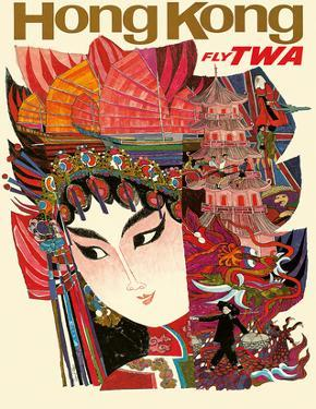 Hong Kong - Fly TWA (Trans World Airlines) by David Klein
