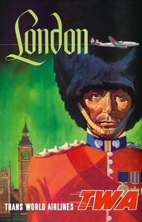 London, England - TWA (Trans World Airlines) - Royal Queen's Guard by David Klein