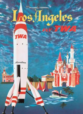 Los Angeles, California - Fly TWA Moonliner (Trans World Airlines) by David Klein