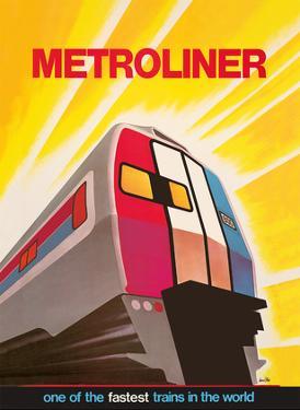 Metroliner Service (Washington-New York) - Fastest Trains in the World by David Klein