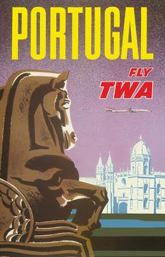 Portugal - Fly TWA (Trans World Airlines) - Jerónimos Monastery Lisbon by David Klein