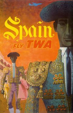 Spain - Fly TWA (Trans World Airlines) - Matadors by David Klein