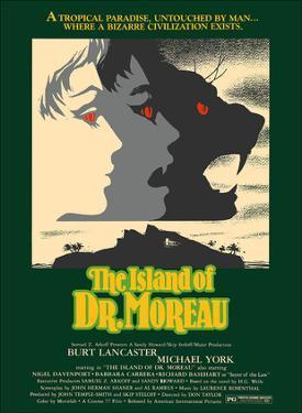 The Island of Dr. Moreau - Starring Burt Lancaster, Michael York by David Klein