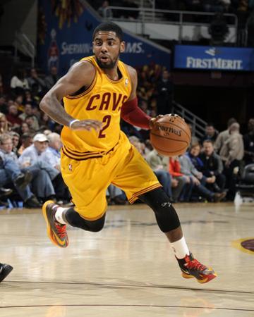 Feb 28, 2014, Utah Jazz vs Cleveland Cavaliers - Kyrie Irving by David Liam Kyle