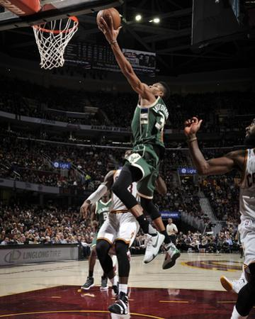 Milwaukee Bucks v Cleveland Cavaliers by David Liam Kyle