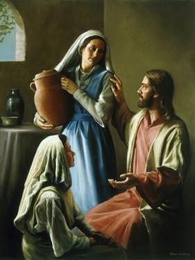 Mary and Martha by David Lindsley
