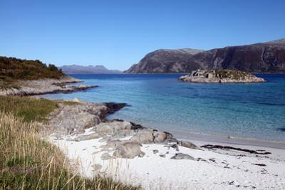 Beach at Gasvaer, Kvalfjord, Troms, North Norway, Norway, Scandinavia, Europe by David Lomax