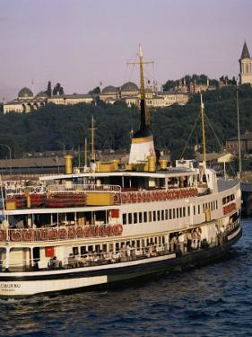 Bosphorus Ferry, Istanbul, Turkey, Eurasia by David Lomax